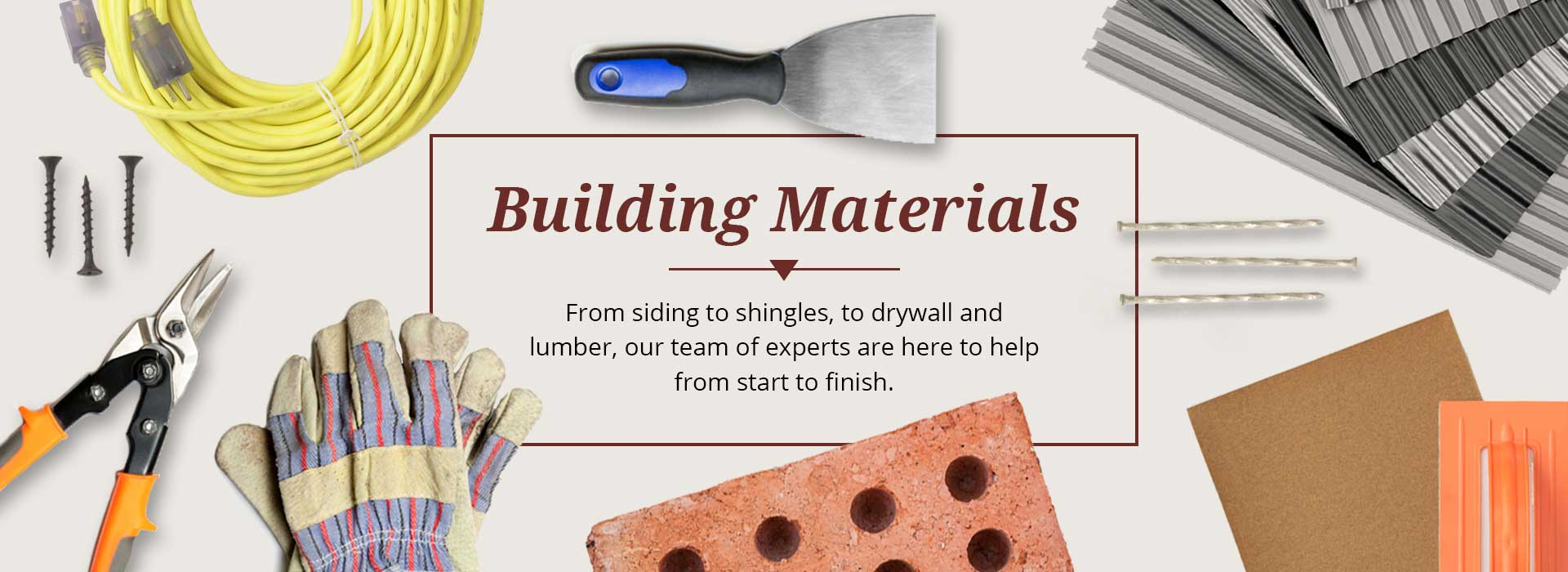 Building materials yantzi home design smart for Materials needed to build a house